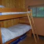 Safaritent slaapkamer 2