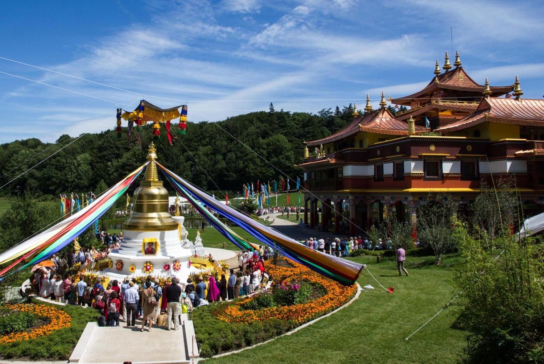 boeddhistische tempel Lerab Ling